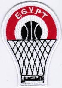 Egypt FIBA World Cup National Basketball Patch