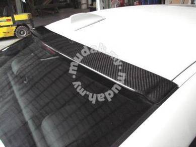 BMW F10 F30 Real carbon Fiber Roof Spoiler