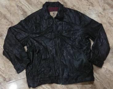 Jacket Leather Marks & Spencer