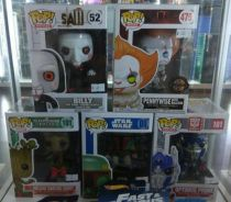 Funko Pop Pennywise Saw Transformer Groot boba fet