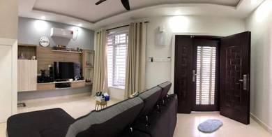 Taman Scientex Senai 2.5 Storey (New Fully Renovated) Below Bank Value