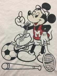 Tshirts baju mickey vintage