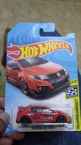 Hotwheel 16 HONDA CIVIC TYPE R