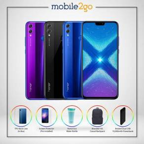 Honor 8X [128GB ROM/4GB RAM] + FREE GIFT