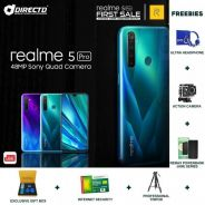 REALME 5 PRO (8GB/128GB/4 kamera) + 6 HADIAH🎁