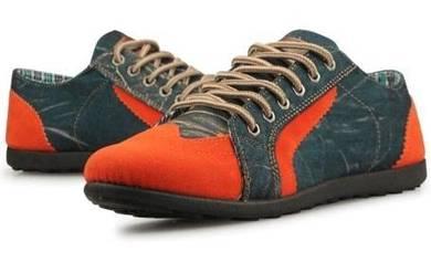 S18361 Retro Classic Sneakers Orange Casual Shoes