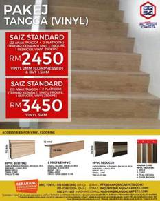 Staircase vinyl supplier and installaer in m'sia