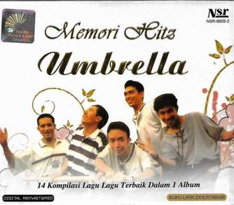 Umbrella Memori Hits 14 Kompilasi Lagu Terbaik CD