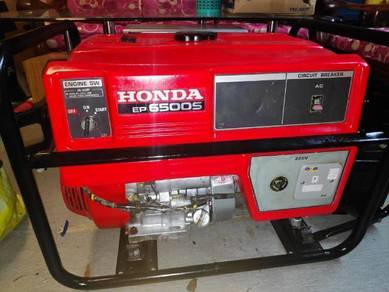 Honda generator EP6500s