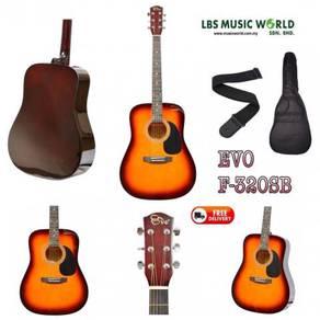 EVO Guitar F320-BK