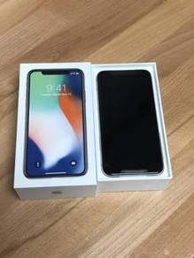 Iphone X Silver (white) 512gb Baru with warranty