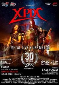 Ticket showcase xpdc 30th anniversary