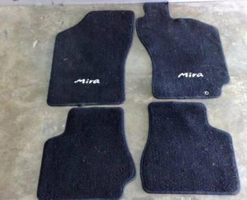 Karpet Kaki aka Floor Mat Mira L5 for Kancil