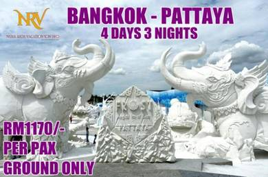 4d3n bangkok - pattaya tour