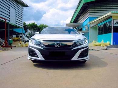 Civic fc samurai x bodykit w paint body kit