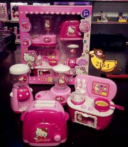 [sales ] 4in1 hello kitty toy set with sound/light