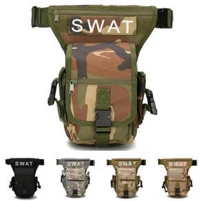 Military Drop Leg Bag Panel Utility Waist Belt Pou