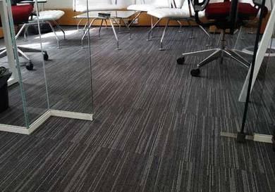 New Design Carpet office with install syam karpet