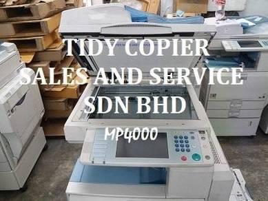 Mp4000 photocopy machine b/w