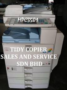 Mpc3501 photocopy machine color