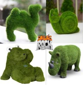 All type of artificial grass yarn shape