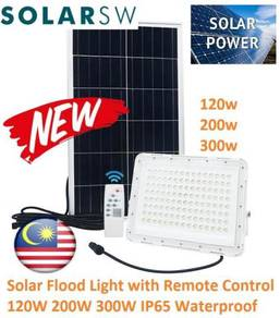 Solar Flood Light SUPER Light with Remote Control