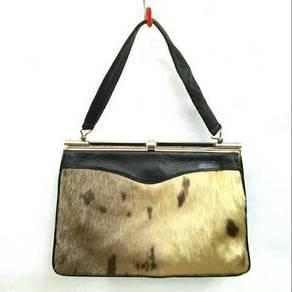 Genuine Sealskin Fur Dinner Bag