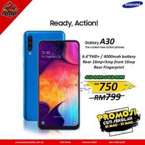 Samsung A30 [ 4+64GB ] New Original set