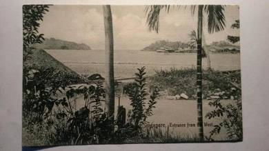 Antik Postcard Malaya Singapore 1900 PC 16