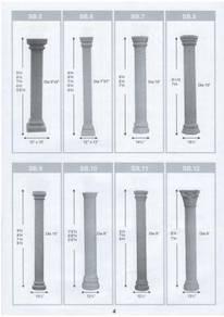 Tiang Roman Pillar