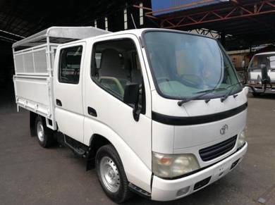 Toyota dyna double cab/registered 2018year