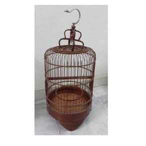 Bamboo birdcage