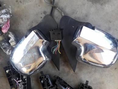 Sidemiror autoflip kembara terios foglamp wish ori