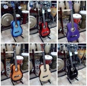 Gitar Kapok : Hitam