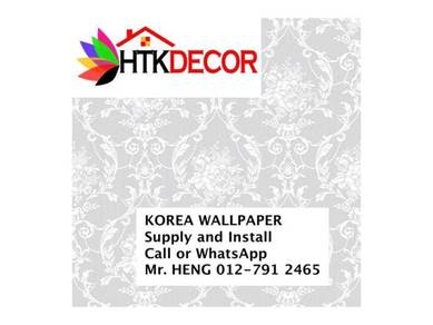 Korea Wall paper with installation 88SH
