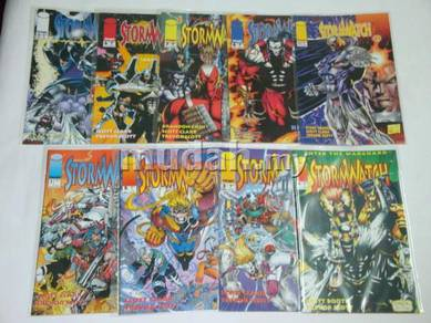 STORMWATCH. 1993 1st series. issue 1-8