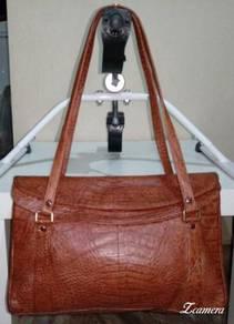 Shoulder Bag Alligator Leather Unbrand