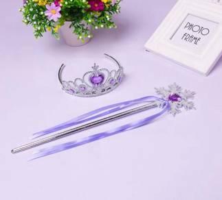 Princess Elsa, Cinderella Crown 2in1 *Purple