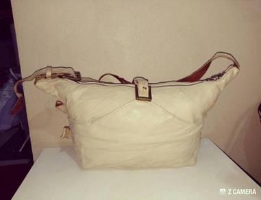 Shoulder Bag Leather Jas M.B London