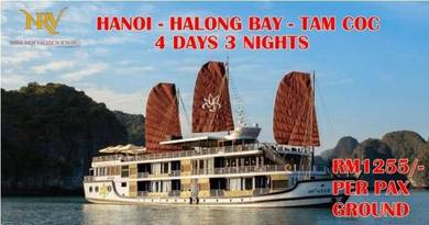 Hanoi - halong bay - tam coc tour