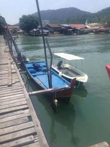 Boat sampan untuk dijual