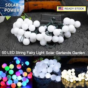 Solar Power 50 LED String Ball Solar LED String