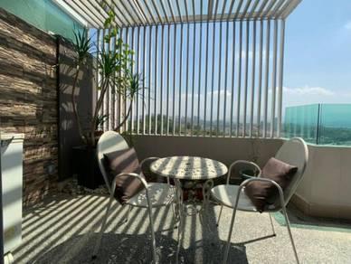 Alam damai blk b duplex penthouse luyang kota kinabalu