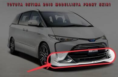 Toyota estima acr50 modellista front skirt abs