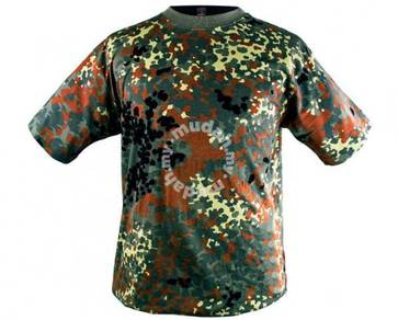 MFH Military Camouflage T-shirts
