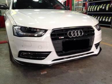 Audi A4 S4 B8 B8.5 Carbon front lip
