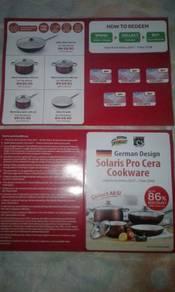Voucher Solaris Pro Cera Cookware