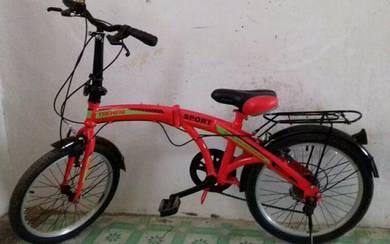 Basikal Lipat / Fordable Bicycle