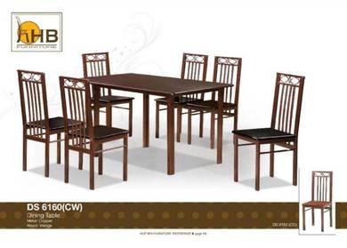 Dining set 6 seater / meja makan 6 orang