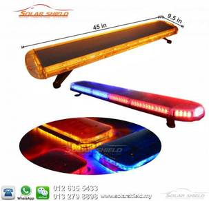 Amber Emergency Lightbar Beacon Strobe Lightbar